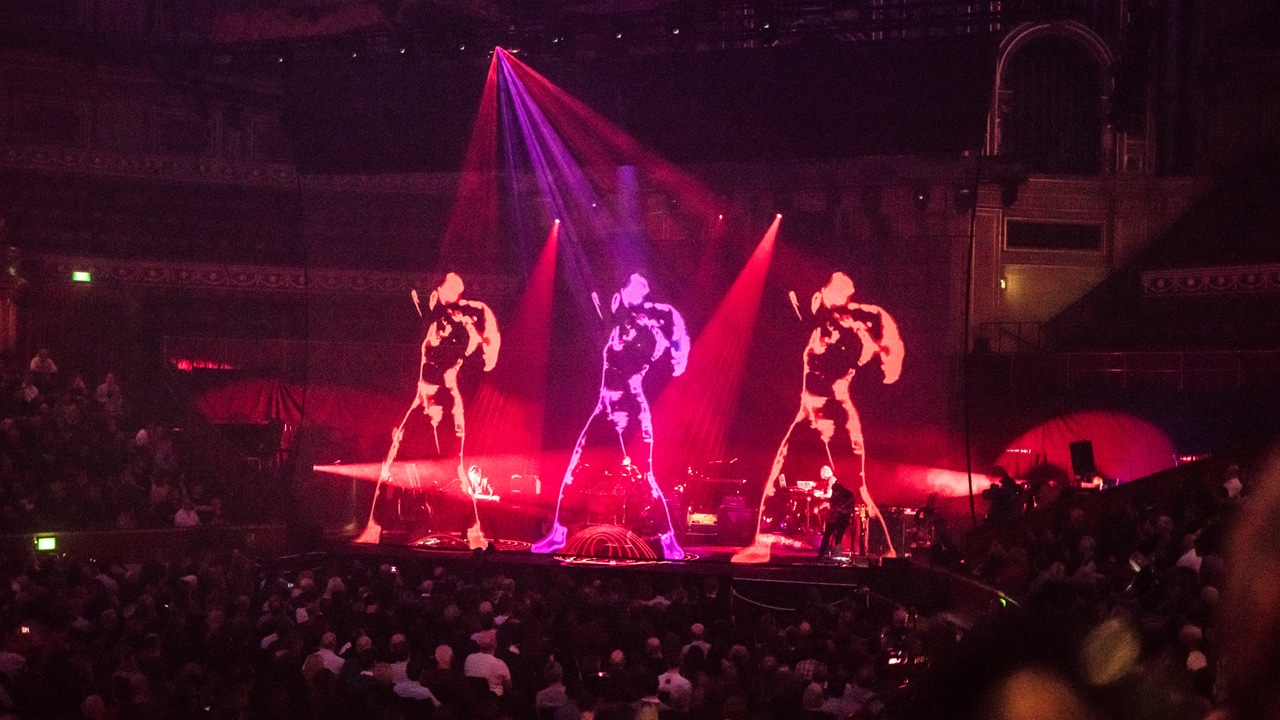 Steven Wilson - To The Bone Tour 2018 - Holographic Projection