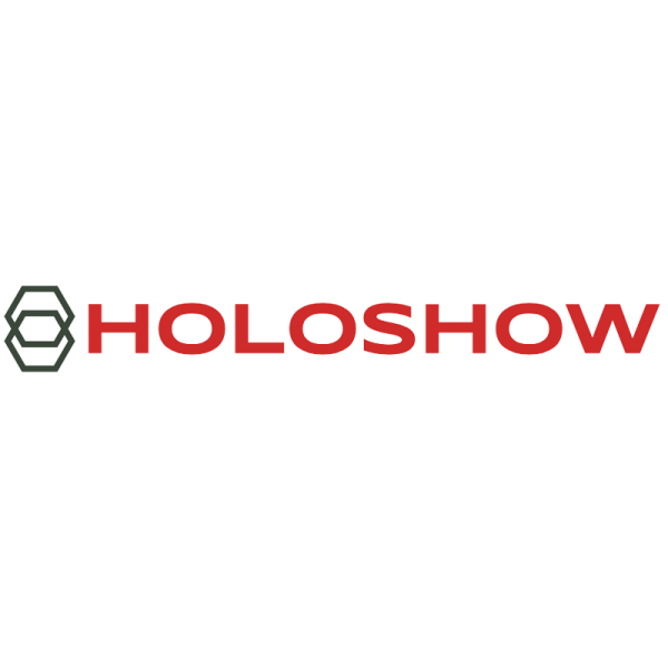 HoloShow 3D Holographic Projection Logo